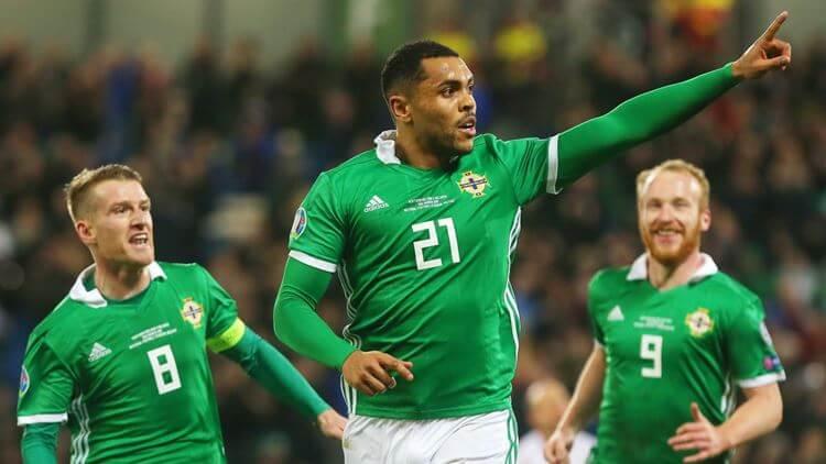 ดูบอลย้อนหลัง ไฮไลท์บอล ไอร์แลนด์เหนือ 2-1 เบลารุ