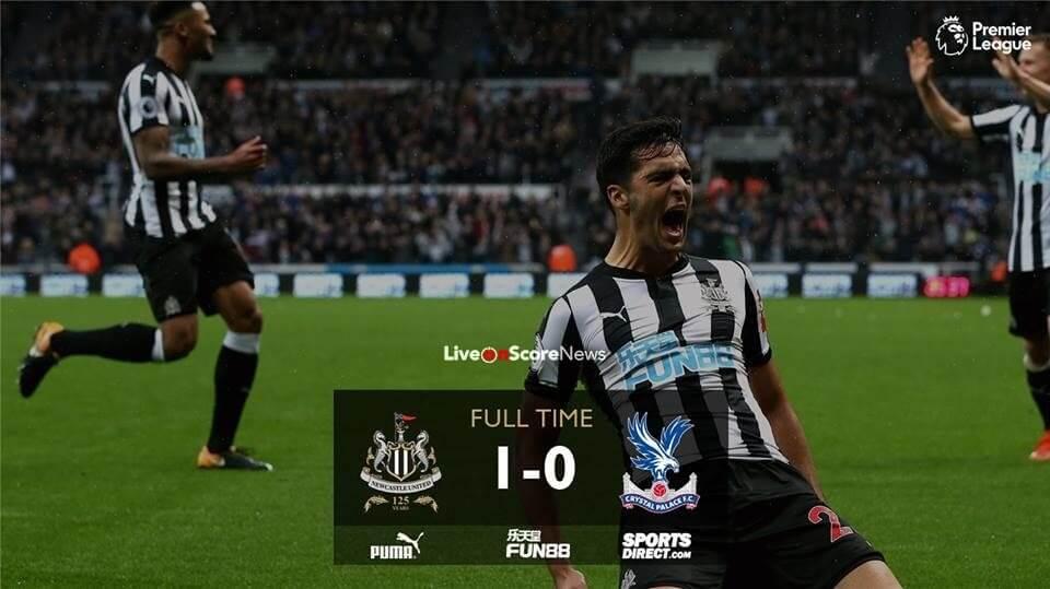ดูบอลย้อนหลัง Newcastle United 0-1 Crystal Palace