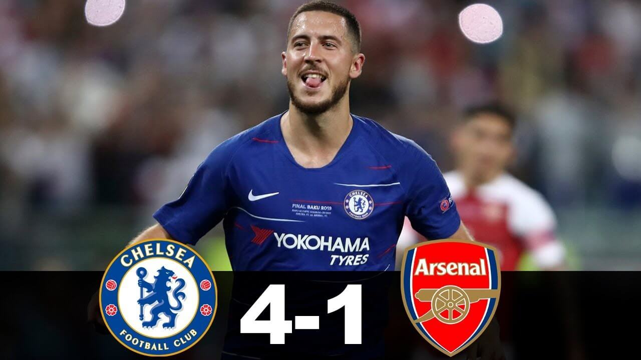 Chelsea 4-1 Arsenal highlights