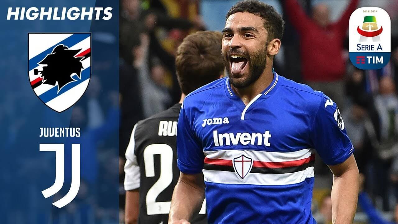 Sampdoria 2-0 Juventus