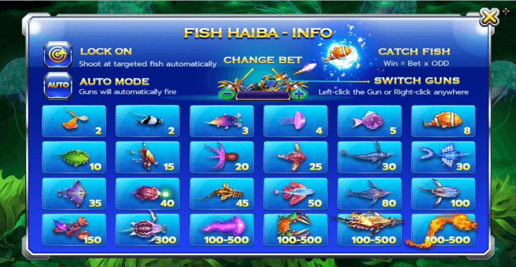 วิธีเล่นเกมส์ยิงปลา เกมส์พนันออนไลน์ SBOBET