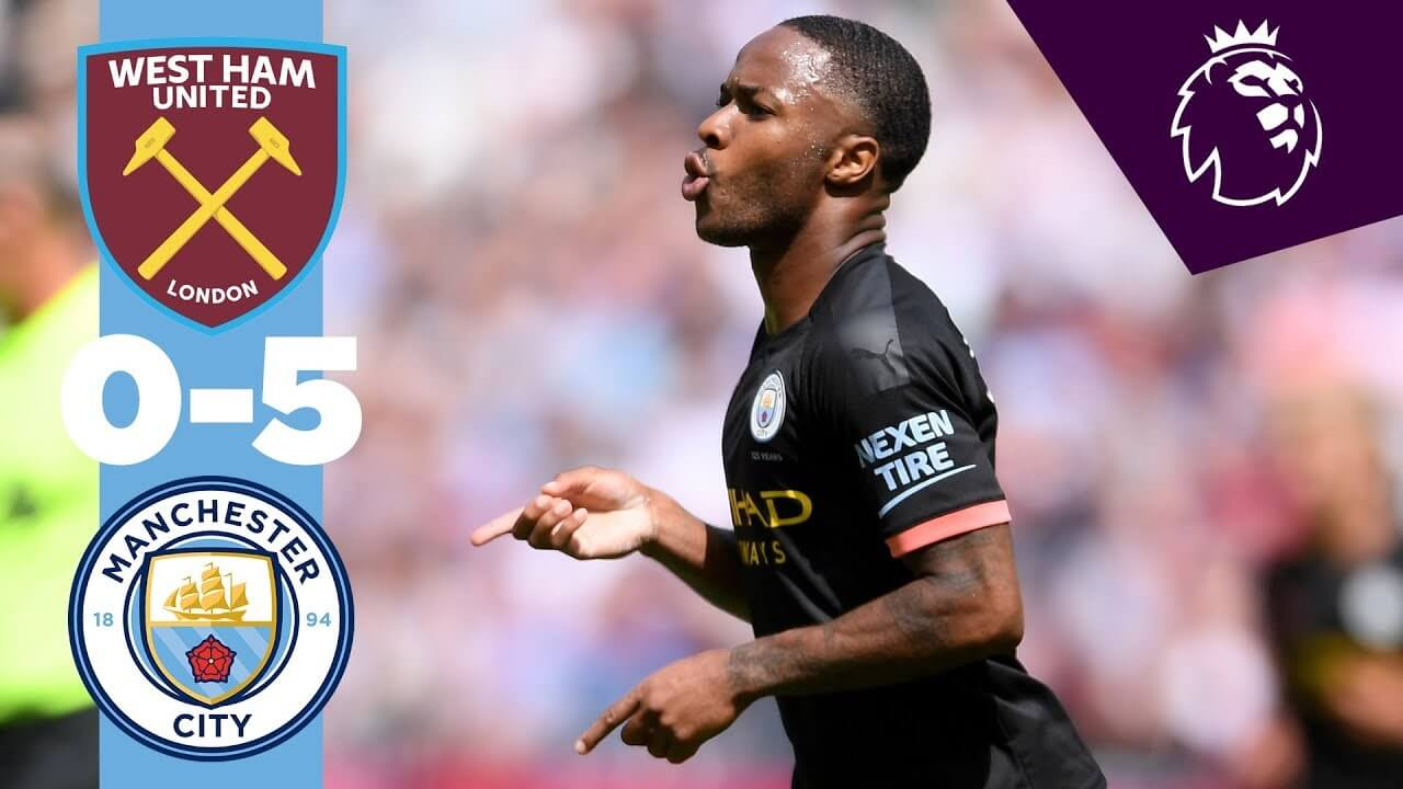 West Ham United 0-5 Manchester City
