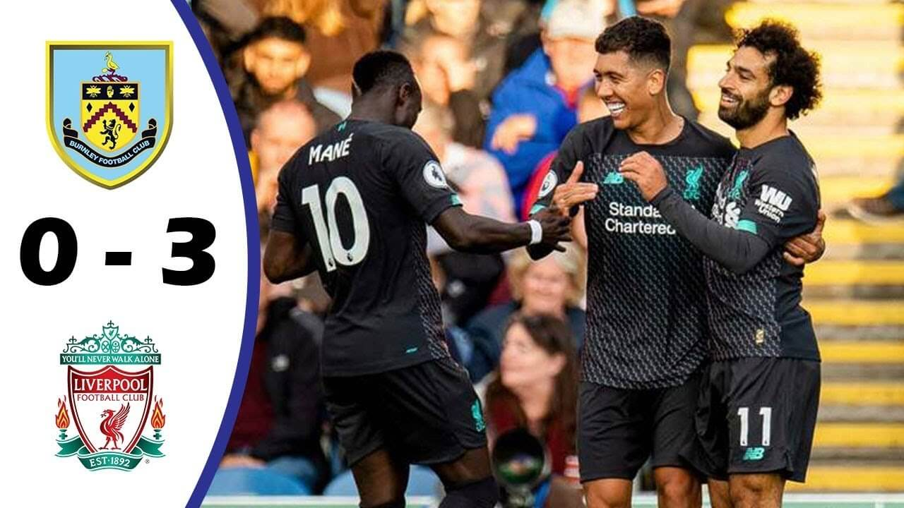 Burnley 0-3 Liverpool highlights