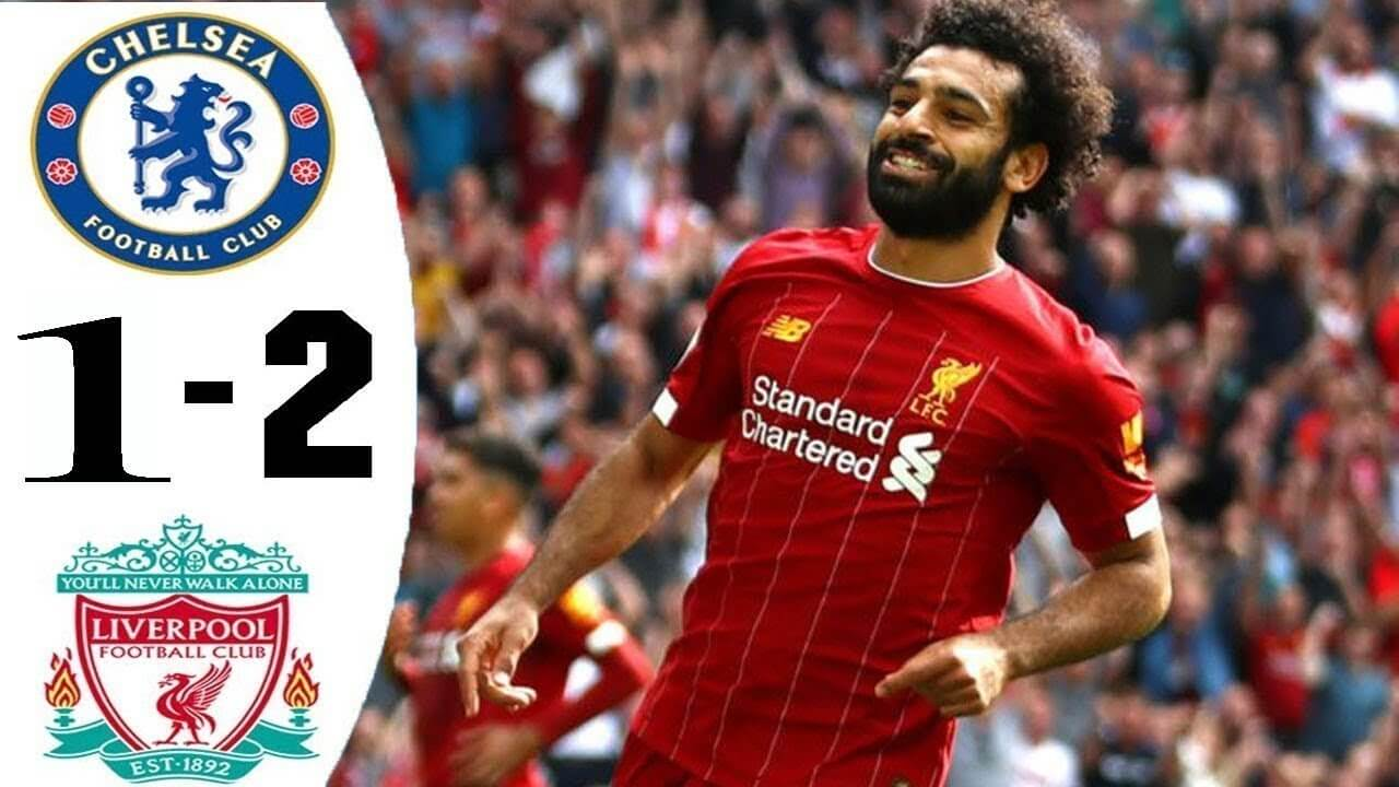 Chelsea 1-2 Liverpool) highlights