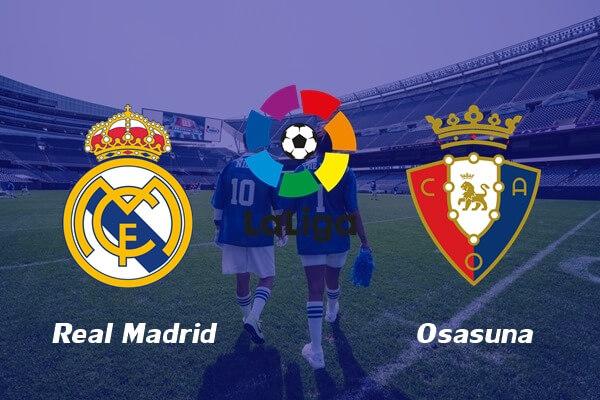 ดูบอลย้อนหลัง เรอัล มาดริด 2-0 โอซาซูน่า ลาลีกา สเปน
