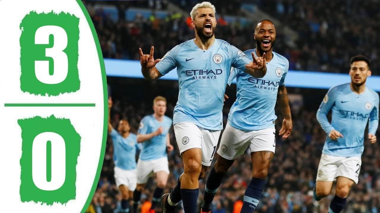 preston north end 0-3 manchester city highlights