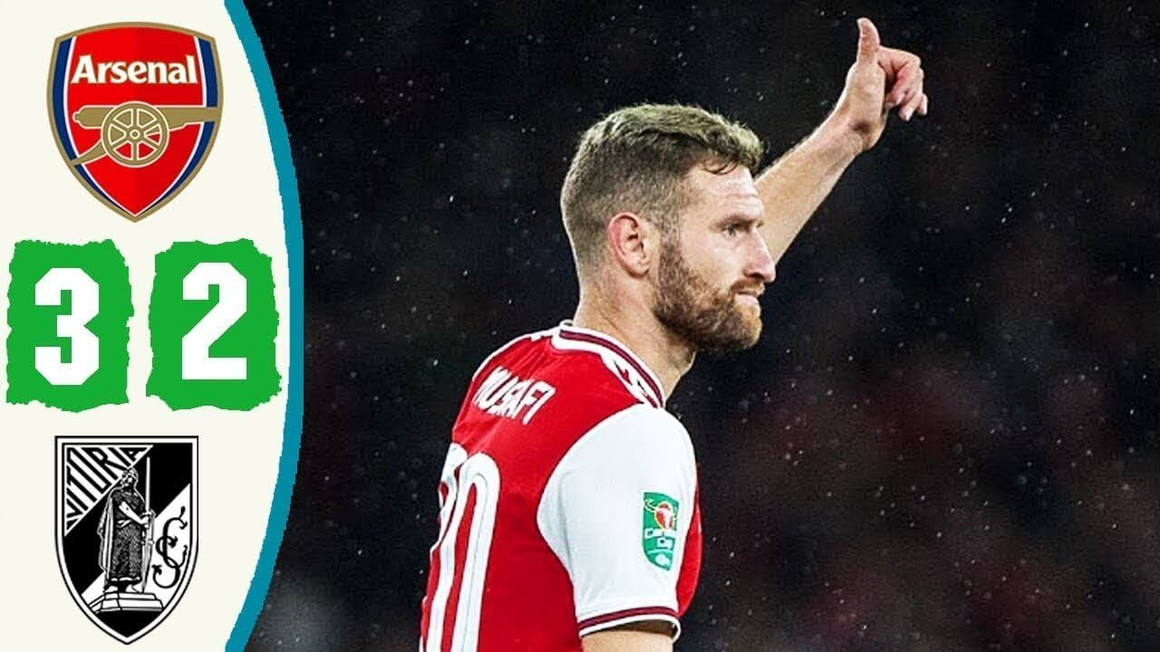 Arsenal 3-2 Vitoria de Guimaraes