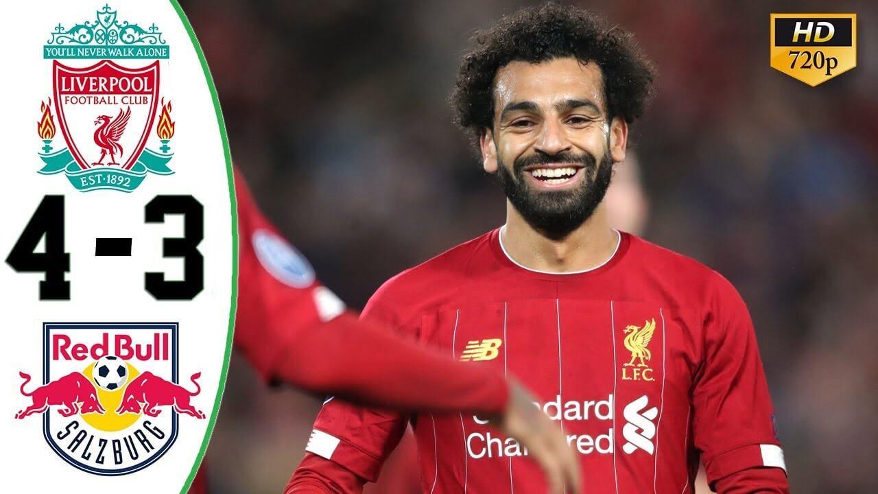 Liverpool 4-3 Salzburg highlights