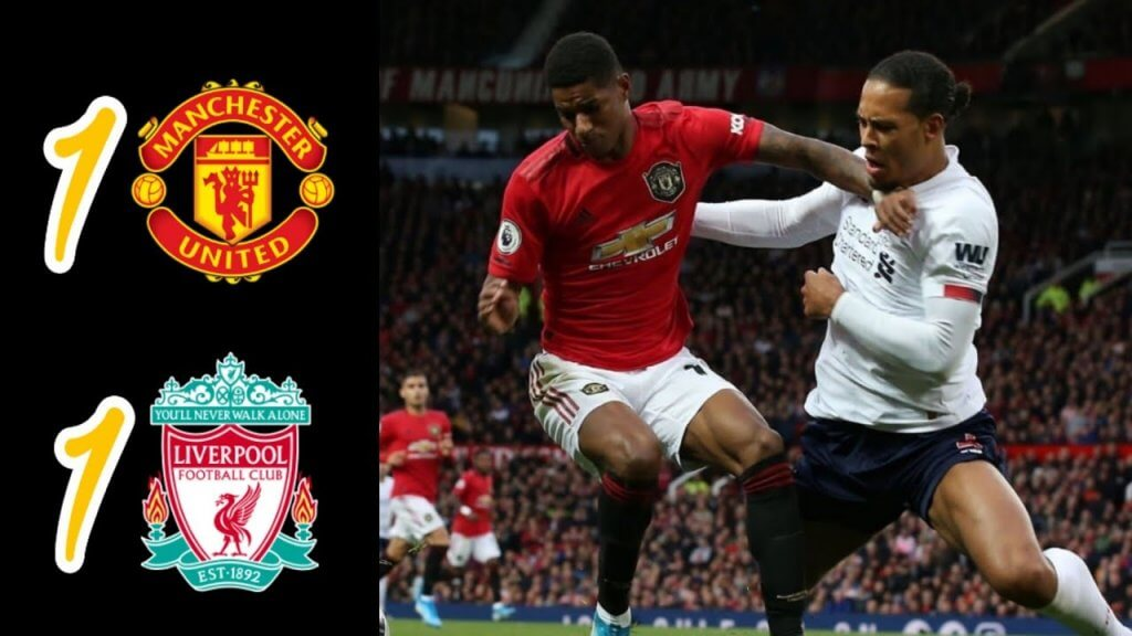 Manchester United 1-1 Liverpool highlights