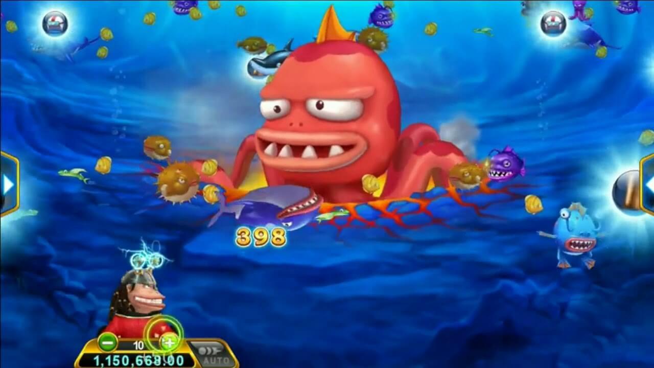 Captain Money เกมส์ยิงปลาออนไลน์ที่กับตันต้องล่าปลาเพื่อเงินรางวัลมหาศาล