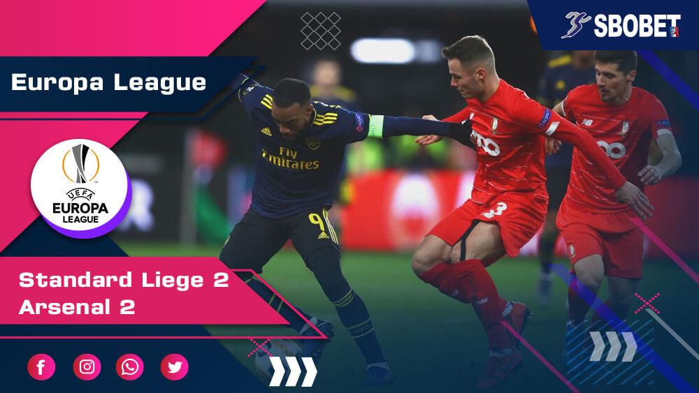 ดูบอลย้อนหลัง สตองดาร์ด ลีแอช 2-2 อาร์เซน่อล ยูฟ่า ยูโรป้า ลีก 12 ธ.ค. 2019
