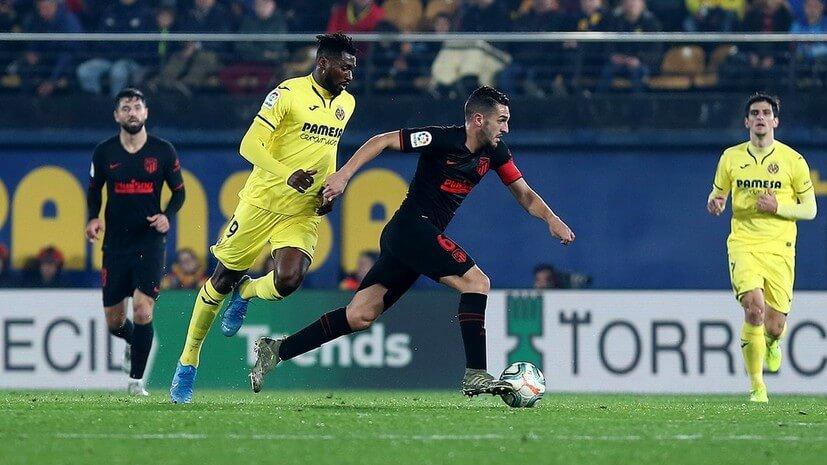 ดูบอลย้อนหลัง บียาร์เรอัล 0-0 แอตเลติโก มาดริด ลาลีกา สเปน
