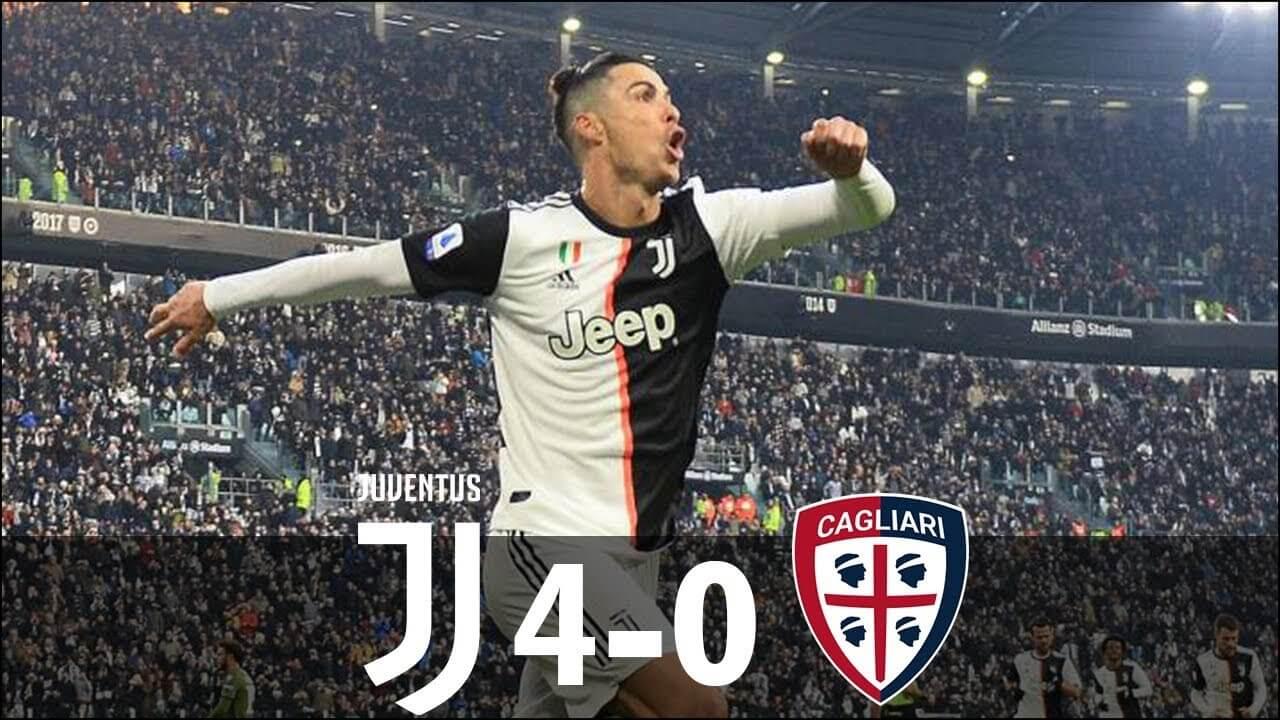 ดูบอลย้อนหลัง ยูเวนตุส 4-0 กายารี่ กัลโช่ เซเรีย อา 06 ม.ค. 2020
