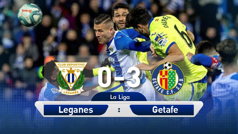 ดูบอลย้อนหลัง เลกาเนส 0-3 เกตาเฟ่ ไฮไลท์บอล ลาลีกา สเปน