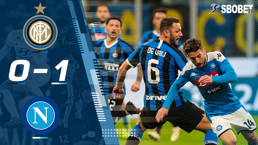 ดูบอลย้อนหลัง อินเตอร์ มิลาน 0-1 นาโปลี โคปา อิตาเลีย คัพ