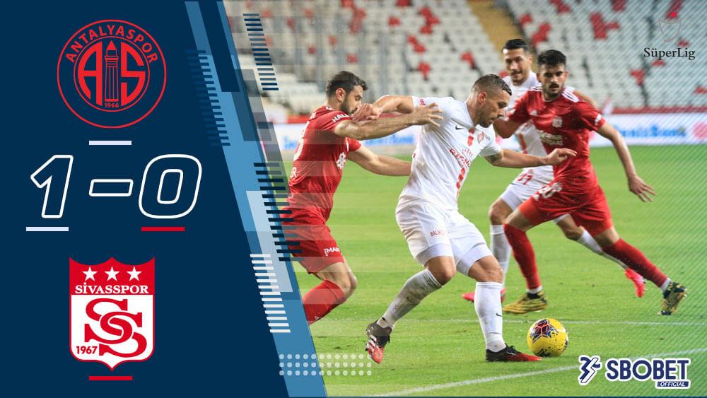 ผลบอลเมื่อคืน อันตัลยาสปอร์ 1-0 ชีวาสสปอร์ ตุรกี ซุปเปอร์ลีก