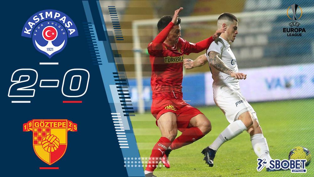ผลบอลเมื่อคืน คาซิมปาซ่า 2-0 กัซเทป ตุรกี ซุปเปอร์ลีก