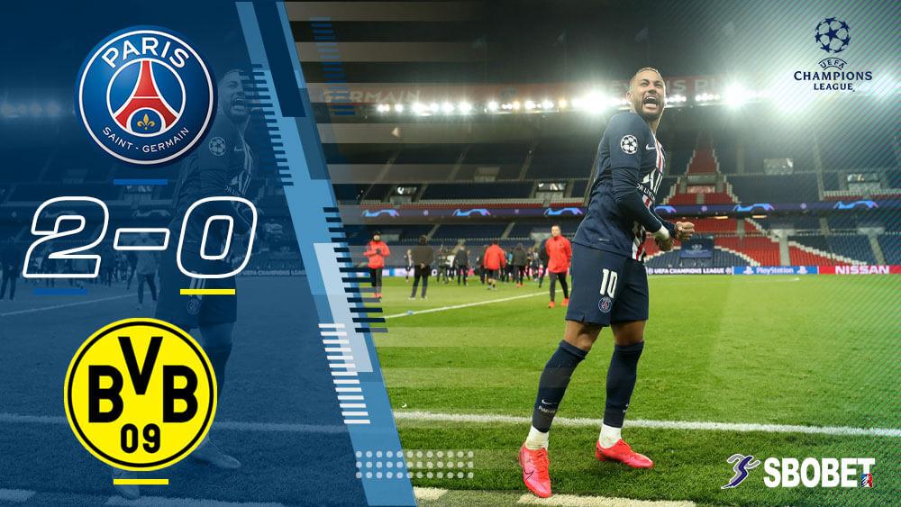 ดูบอลย้อนหลัง ปารีส แซงต์ แชร์กแมง 2-0 ดอร์ทมุนด์ ยูฟ่าแชมป์เปี้ยนส์ลีก