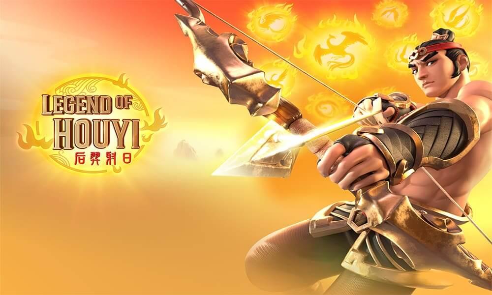 LEGEND OF HOUYI เกมสล็อตออนไลน์ที่จะต้องยิงดวงอาทิตย์ เพื่อรับโบนัส